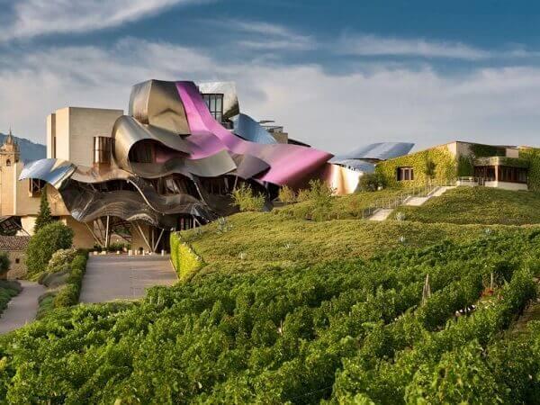 Frank Gehry: Hotel Marqués de Riscal (Pomar)