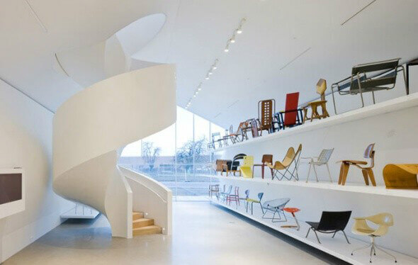 Frank Gehry: Vitra Design Museum (interior)