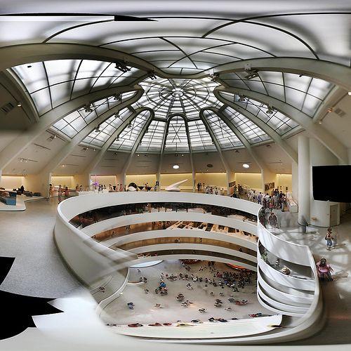Frank Lloyd Wright: Museu Guggenheim (interior)