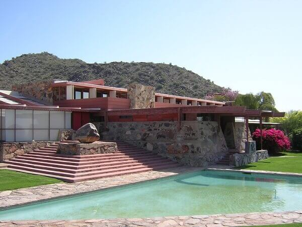 Frank Lloyd Wright: Tailesin West