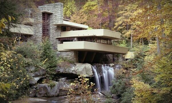 Frank Lloyd Wright: Casa da Cascata