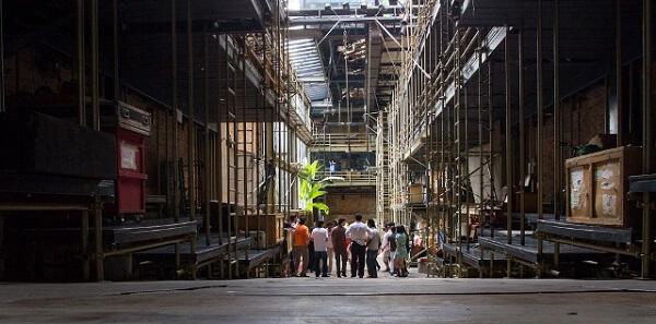 Lina Bo Bardi: Teatro Oficina (interior)