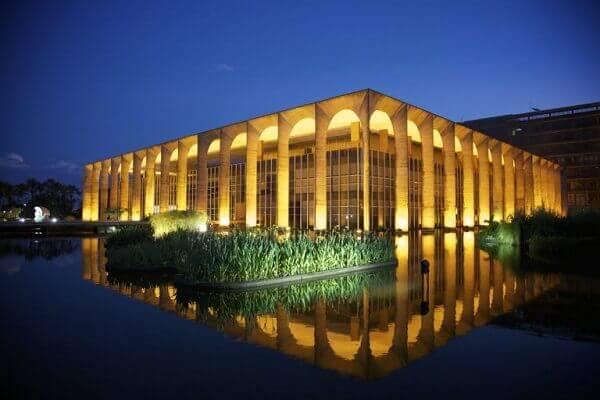 Oscar Niemeyer: Palácio do Itamaraty