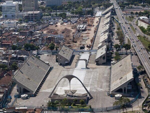 Oscar Niemeyer: Sambódromo de cima