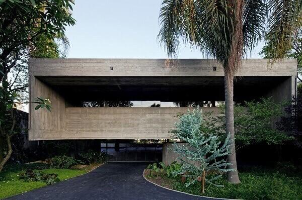 Paulo Mendes da Rocha - Casa Masetti Fachada