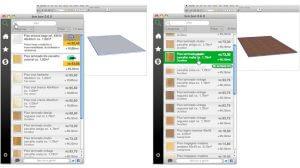 SketchUp: Exemplo de lista de produtos no Bim-bon no SketchUp