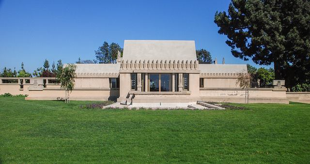 obras de frank lloyd wright: hollyhock house