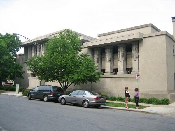 Obras de Frank Lloyd Wright: Unity Temple