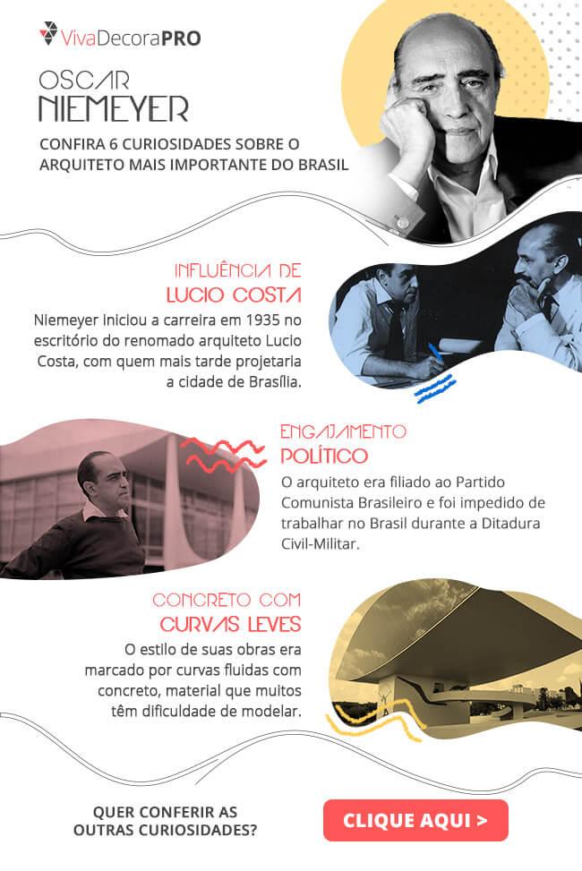 Infográfico - Oscar Niemeyer
