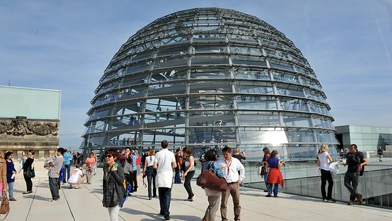 Norman Foster: Parlamento alemão Reichstag (Topo)