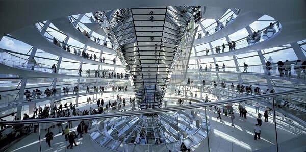 Norman Foster Reichstag (Interior)
