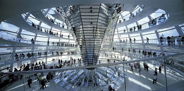 Norman Foster: Reichstag (Interior)