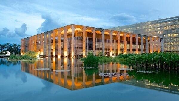 Roberto Burle Marx: Palácio do Itamaraty