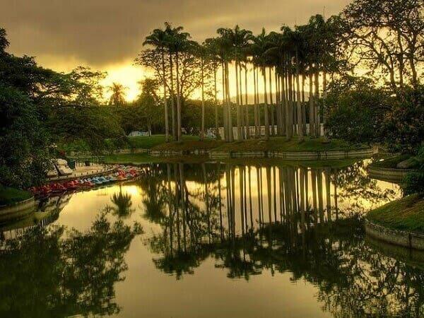 Roberto Burle Marx: parque Generalissimo Francisco de Miranda