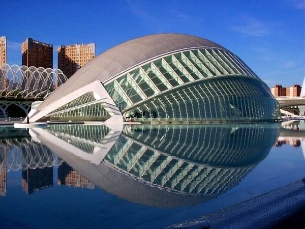 Santiago Calatrava: L'Hemisfèric