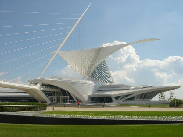 Santiago Calatrava: Museu de Arte de Milwaukee
