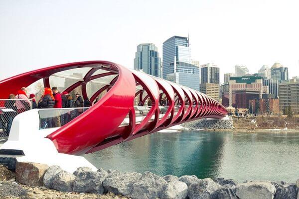 Santiago Calatrava: Ponte da Paz