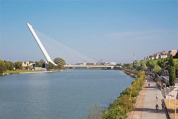 Santiago Calatrava: Ponte del Alamillo