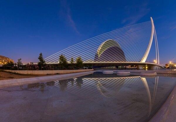 Santiago Calatrava: ponte I'Assut de l'Or