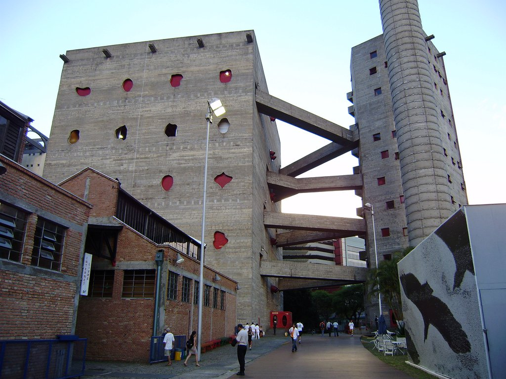 Melhores arquitetos do mundo: Sesc Pompeia