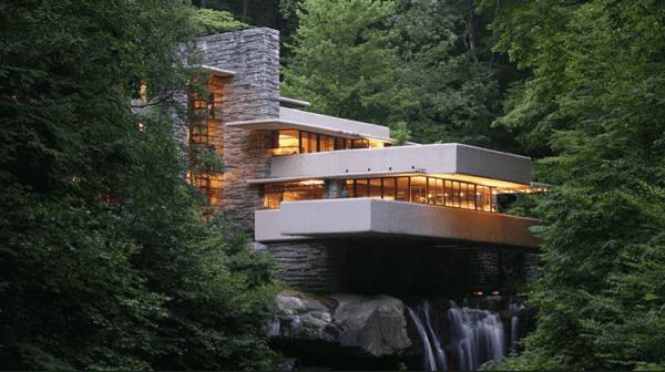 Grandes projetos arquitetônicos: casa da cascada