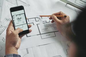 Aplicativo de arquitetura