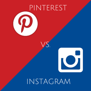 Pinterest ou Instagram