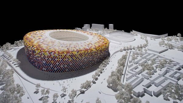 Norman Foster: Maquete do Camp Nou