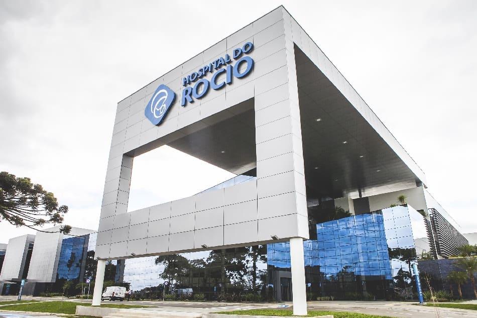 Arquitetura Hospitalar: Fachada do Hospital Rocio, Curitiba