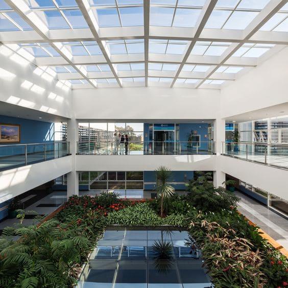 Arquitetura Hospitalar: cobertura do Hospital Rocio, Curitiba