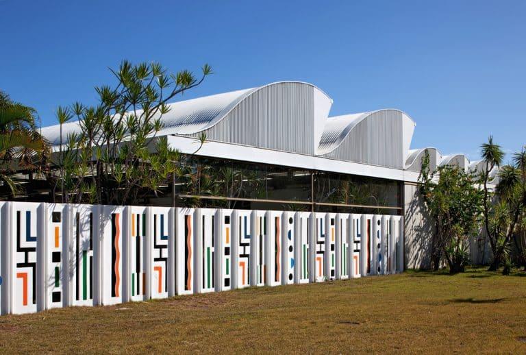 Arquitetura Hospitalar: Fachada do Hospital Sarah Kubitschek, Salvador