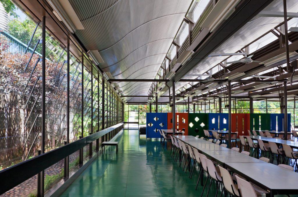 Arquitetura Hospitalar: sala de convivência do Hospital Sarah Kubitschek, Salvador