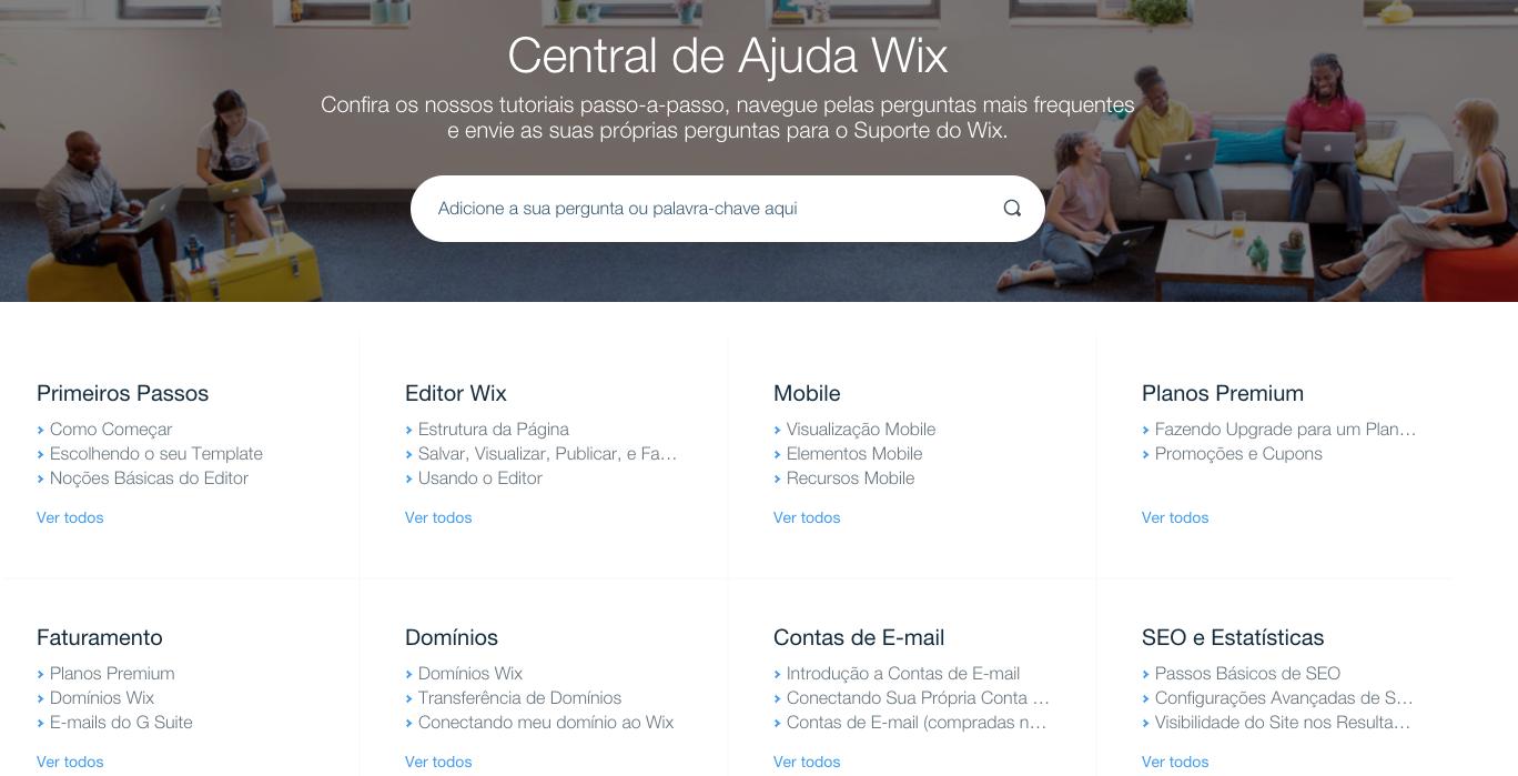 wix ou wordpress: facilidade de uso wix