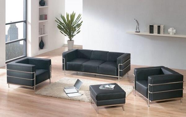 Le Corbusier: sofás e cadeiras