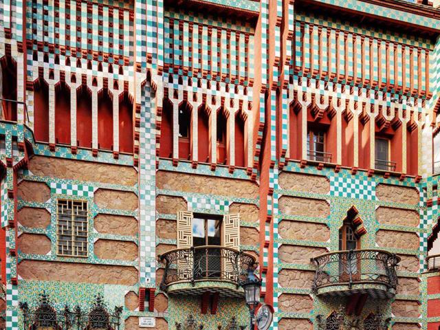 antoni gaudí: casa vicens - fachada