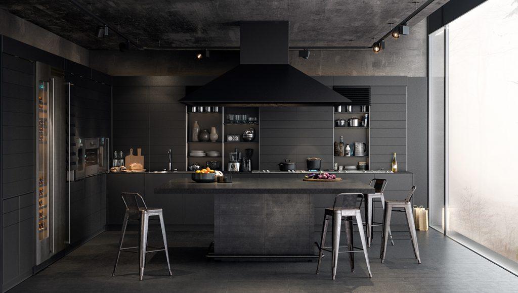 cores-na-arquitetura-cozinha-preta