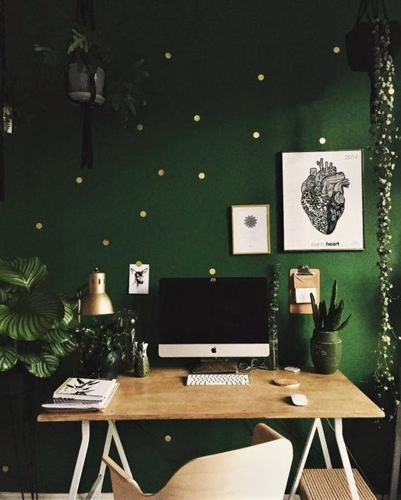 cores-na-arquitetura-home-office-verde