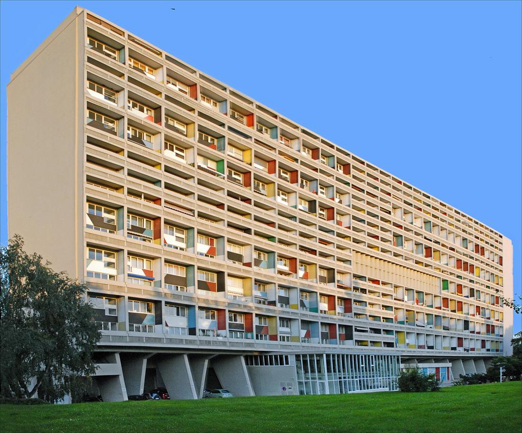 Melhores arquitetos do mundo: Unité d'habitation