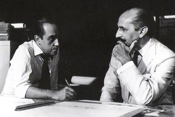 Lúcio Costa e Oscar Niemeyer: que dupla!