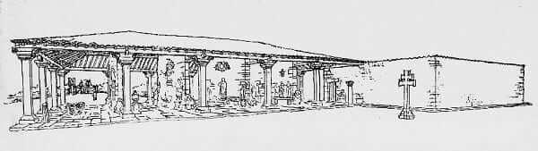 Lúcio Costa: croqui do Museu de São Miguel das Missões