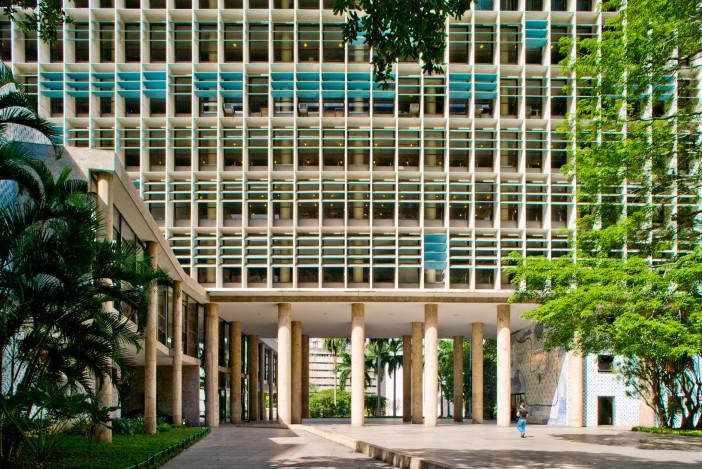 O que é pilotis: Palácio Gustavo Capanema