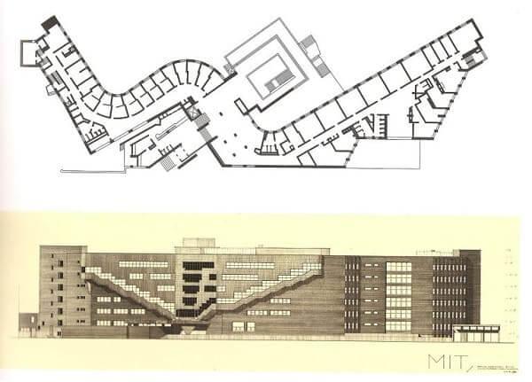 Alvar Aalto: Baker House - Planta
