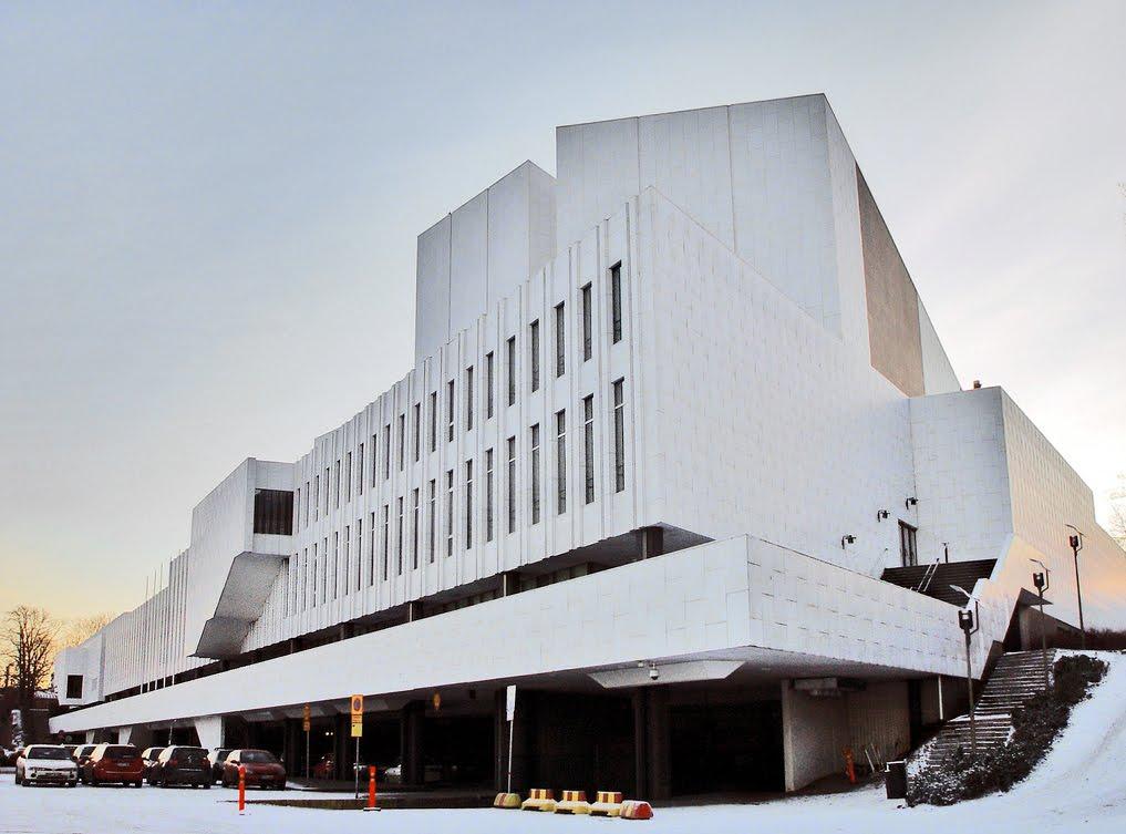 Alvar Aalto: Congresso em Helsinque