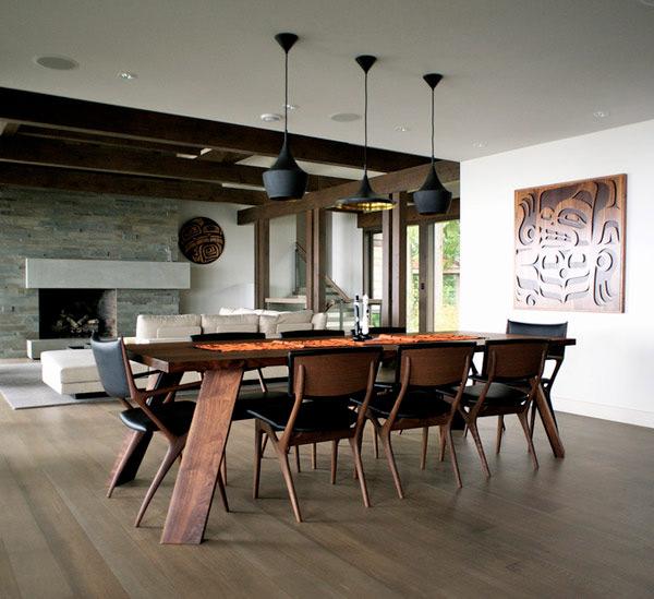 como-iluminar-sala-de-jantar-pendente-de-metal
