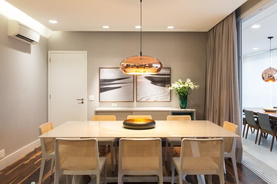 como-iluminar-sala-de-jantar-pendente-dourado