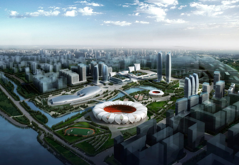 escritorios-de-arquitetura-famosos-nbbj-hangzhou-olympic-sports-center