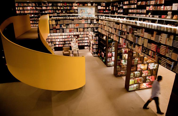 maiores-escritorios-de-arquitetura-do-brasil-isay-weinfeld-livraria-da-vila