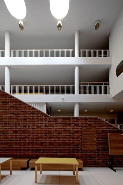 Obras de Alvar Aalto: Universidade de jyväskylä - Interior