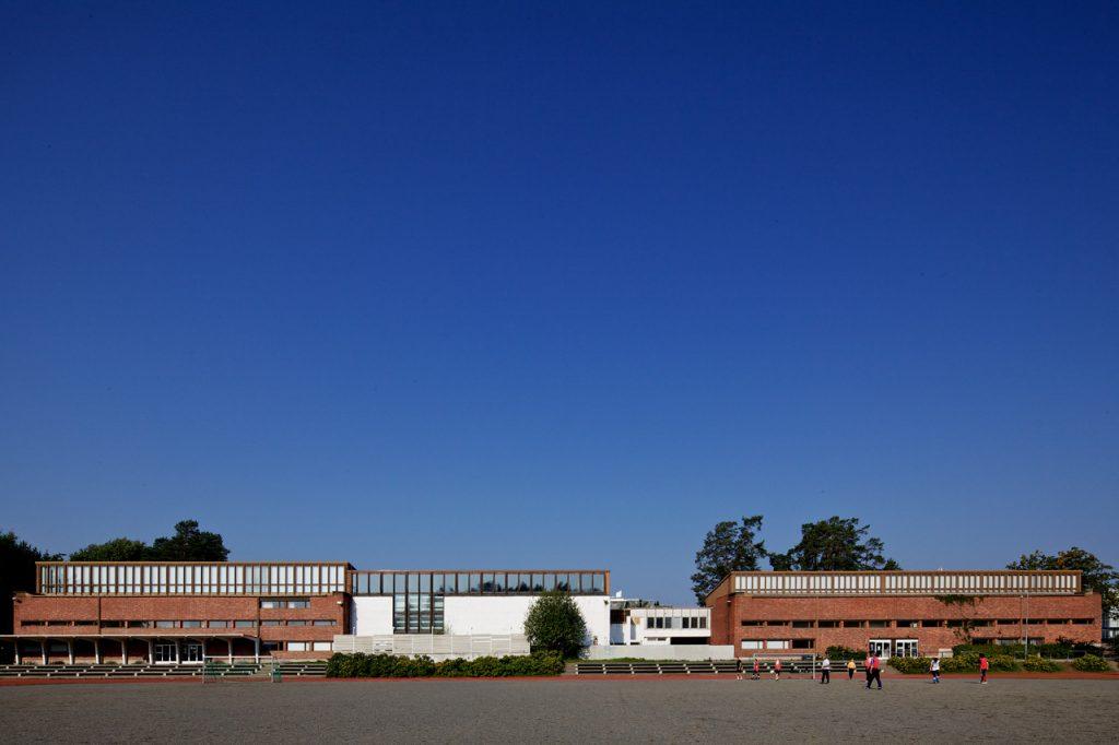 obras de alvar aalto: universidade de jyväskylä