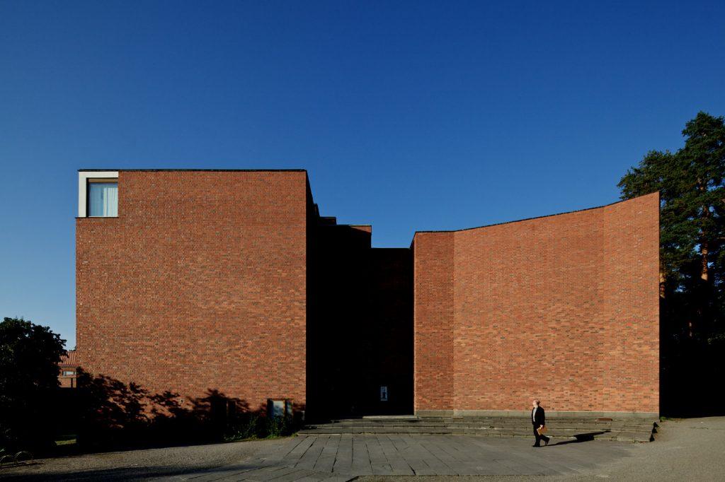 Obras de Alvar Aalto: Universidade de jyväskylä - Prédio